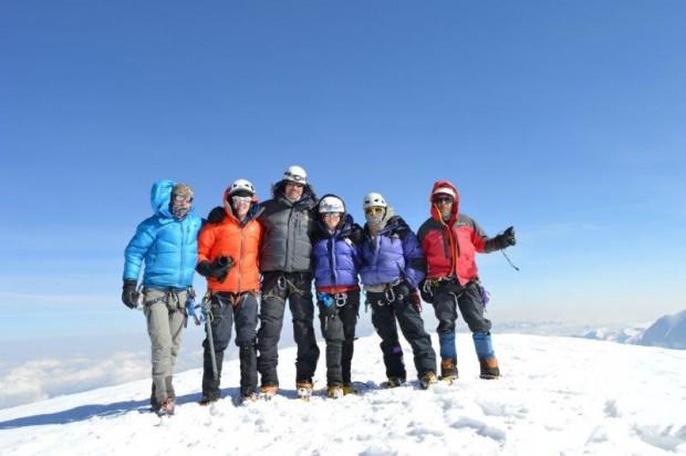 Illimani Summit. (Luke Reilly)