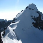 The final summit ridge (Greg Vernovage)