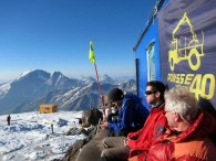 Spectacular view from our high hut (Viki Tracey)