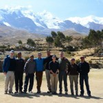 The team at the Illimani trailhead. (Doug Pitman)