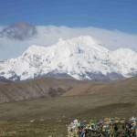 Shishapangma from Tsong La pass (Ang Jangbu Sherpa)