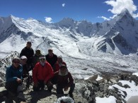 3 x 3 and Lobuche Peak Team summits Chukkung Ri (Tye Chapman)
