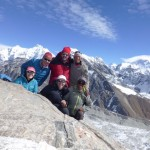 3 x 3 Team on the summit of Gokyo Ri (Kevin Keniry)