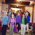 3 x 3 Trekkers departure from the hotel (Ang Jangbu)