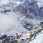 Camp 1 on Ama Dablam (Justin Merle)