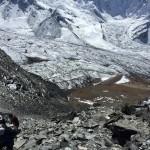 Climbing Chukkung Ri (Tye Chapman)