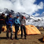 Ama Dablam Camp 2 Rotation (Mark Allen)