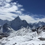 Looking Southeast at Ama Dablam from Khonmga La (Tye Chapman)