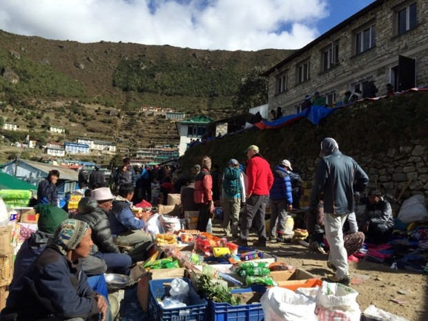 Namche Bazaar (Tye Chapman)