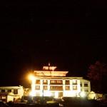 Tengboche Monastery at night (Mark Allen)