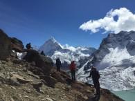 Trekking to Dzongla (Tye Chapman)