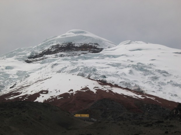 Jose Ribas hut on Cotopaxi
