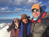 Summit of Chimborazo - this morning!!