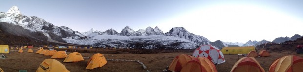 Panorama of Ama Dablam BC (Josh McDowell)