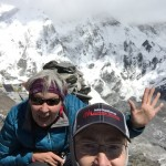 Robin and Tye on the top of Chukkung Ri  (Tye Chapman)