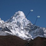 Camps on Ama Dablam (Justin Merle)