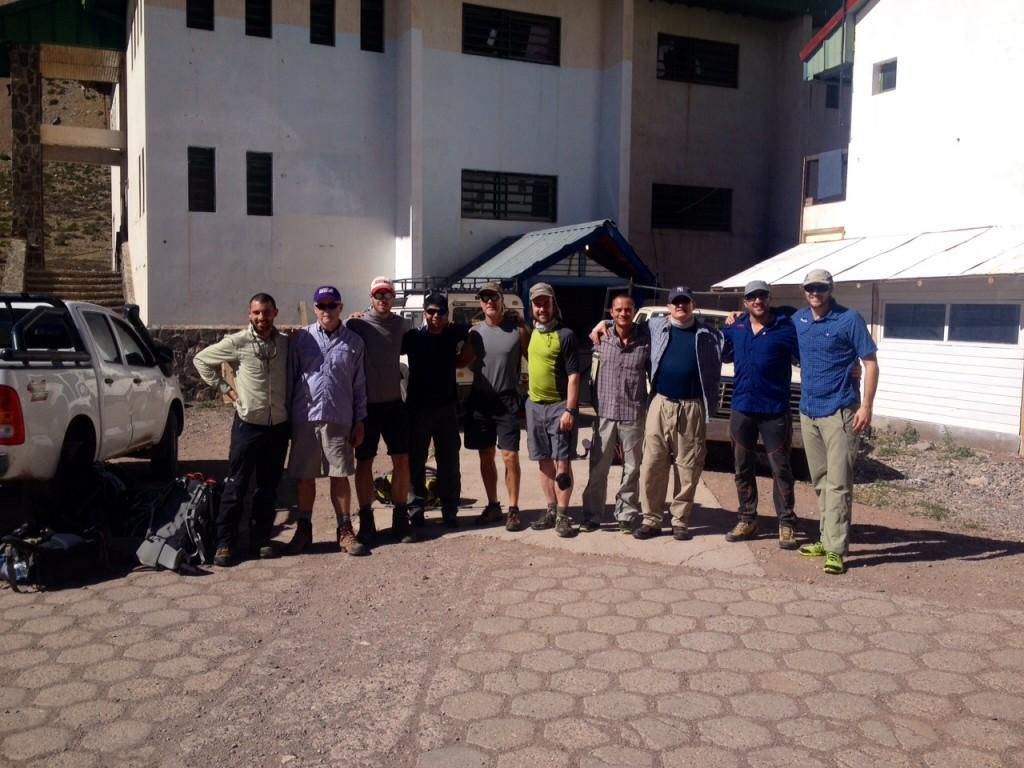 Aconcagua team - ready to go