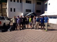 Aconcagua team - ready to go