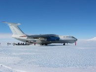Arriving in Antarctica