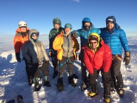 Chimborazo Summit Team (Luke Reilly)