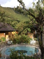 The hot springs of Papallacta
