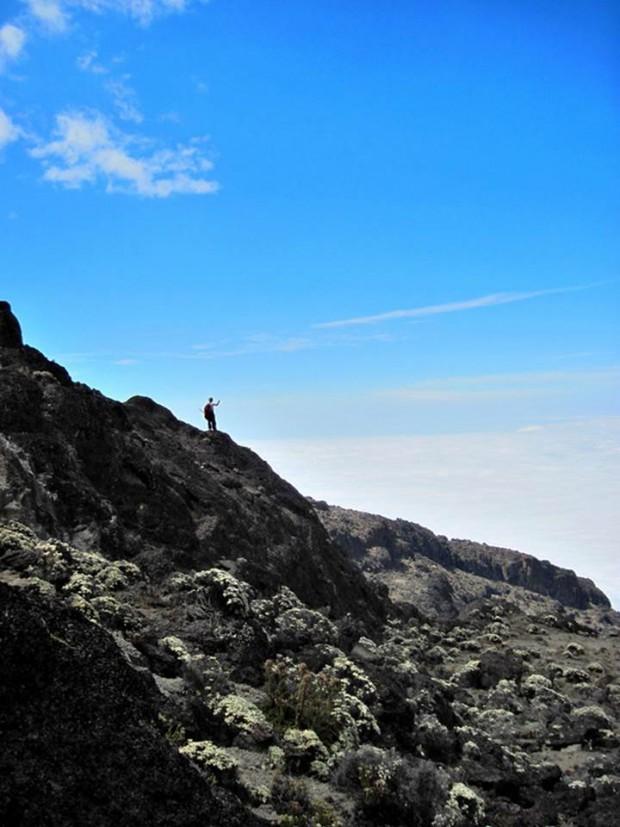 Perfect day on Kilimanjaro