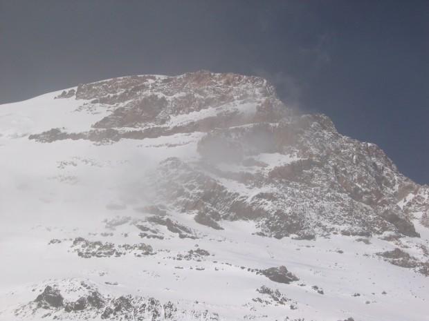 The summit push on Aconcagua.