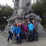 Patagonia team in Punta Arenas.