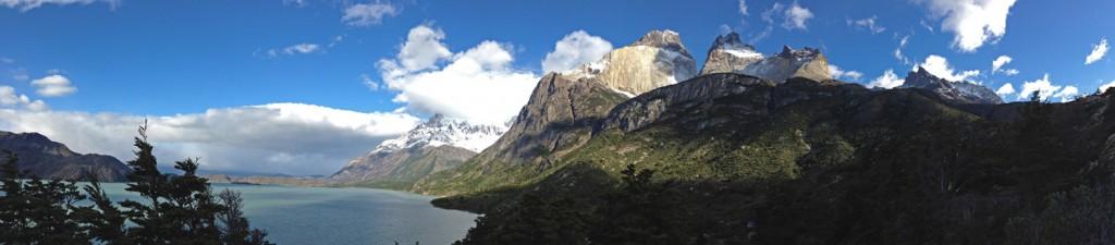 Los Cuernos Panorama. (Photo by Tye Chapman)
