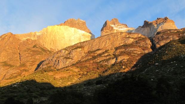 Los Cuernos at sunrise. (Tye Chapman)