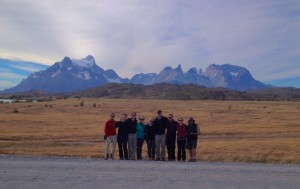 One last team photo - Torres del Paine National Park makes a nice backdrop!