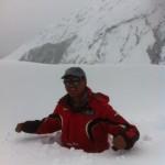 Mingma Tenzing in Phortse snowstorm.