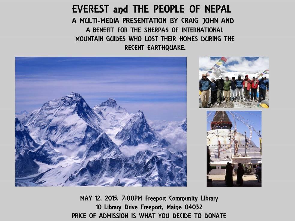 Craig John's Fundraiser for IMG's Sherpas