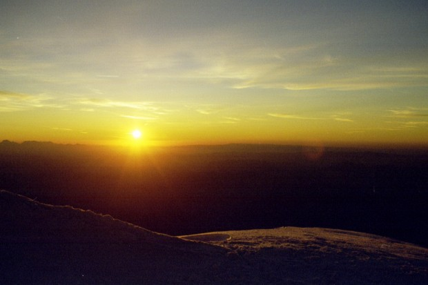 Sunrise High on Kilimanjaro