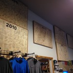 Summit Boards from previous Rainier seasons