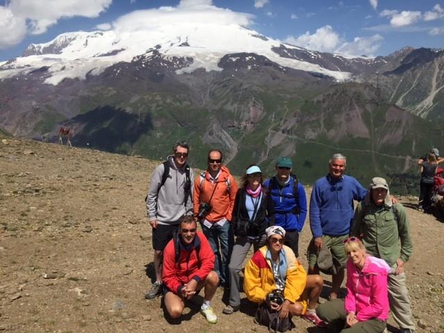 Hiking in the Caucasus