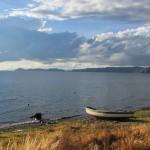Lake Titicaca looking towards Sun Island (Greg Vernovage)