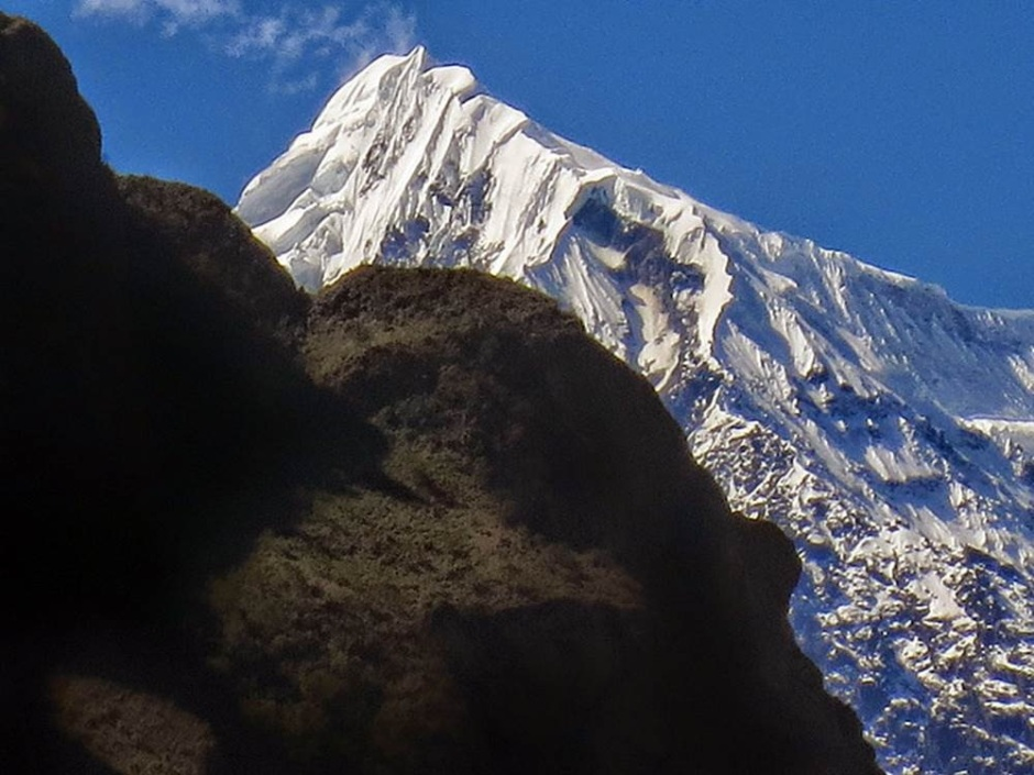 Big mountain view from the Salkantay route (photo: Peter Anderson)