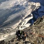 Climbing on the Matterhorn. (Aaron Mainer)