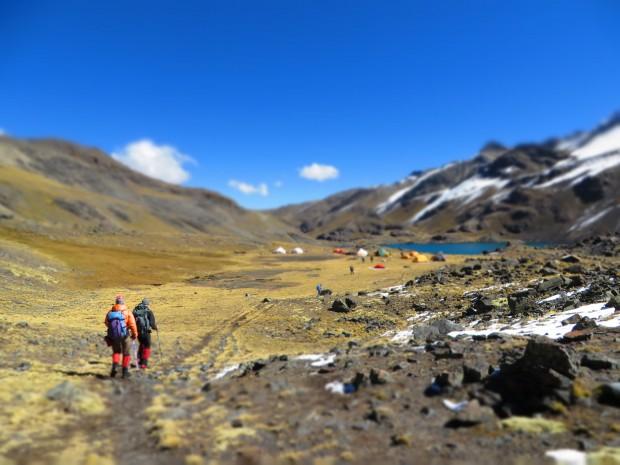 Pequeno Alpamayo Base Camp (Greg Vernovage)