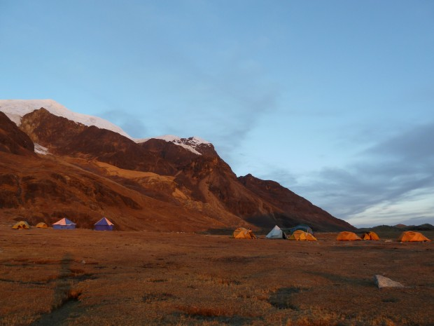 Illimani Base Camp (Greg Vernovage)