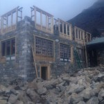 Rebuilding in Phortse (Phunuru Sherpa)