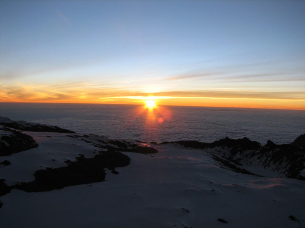 Sunrise on Kilimanjaro (Greg Vernovage)