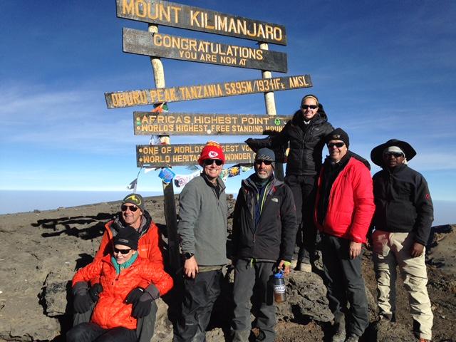CJ's Team on the Summit (Craig John)