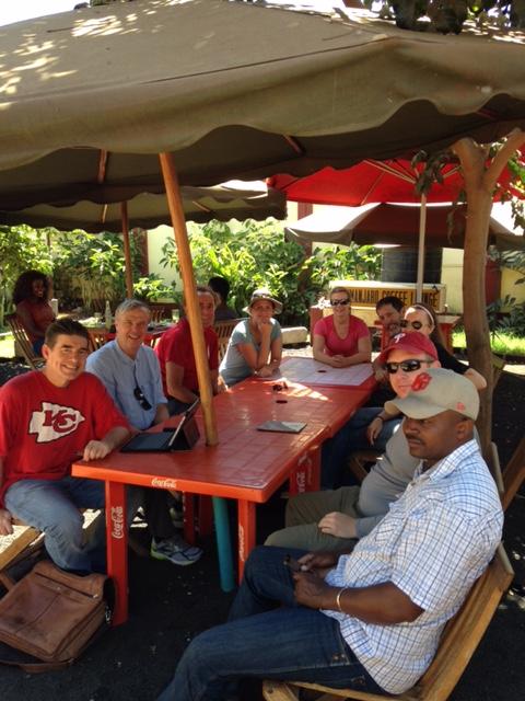 September IMG Kilimanjaro Team (Craig John)