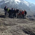 The team on top of Barranco Wall. (Craig John)