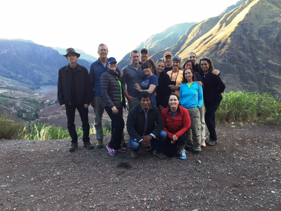 Team in the Sacred Valley