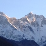 Everest and Lhotse in the distance (Craig John)