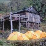 Camp on the trail below Khote. (Eric Simonson)