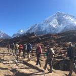 Trekking to Gorakshep (Fura Gyalzen)